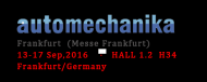 We attend automechanika in Frankfurt