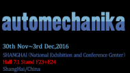 We will attend Automechanika in Shanghai