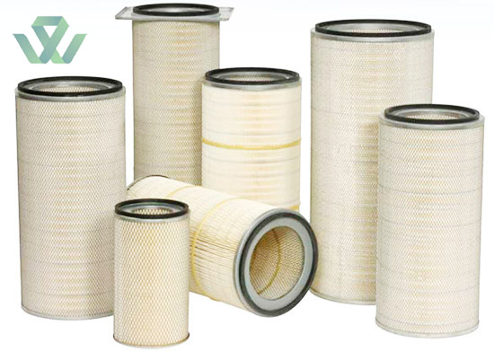 dust collector air filter media